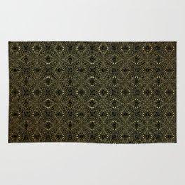Archaic geometry. seamless pattern Rug