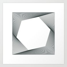 #294 Travelling without moving – Geometry Daily Art Print