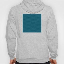 Blue (Bleu) Tres Petit Geometric Pattern Hoody