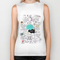 fault Biker Tanks featuring The Fault in Our Stars- John Green by Natasha Ramon