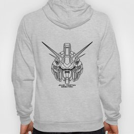 Tristan from Twilight Axis lineart B Hoody