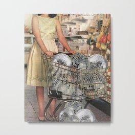 (Disco)unt Supermarket Metal Print