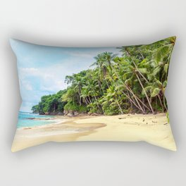 Tropical Beach - Landscape Nature Photography Rectangular Pillow