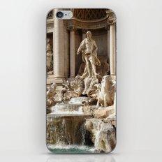 Rome, Italy. Trevi Fountain. iPhone & iPod Skin