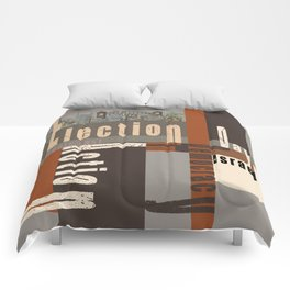 Election Day 7 Comforters