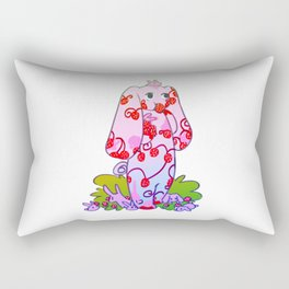Strawberries in May Rectangular Pillow