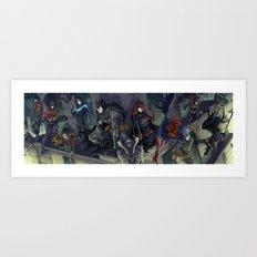 Vengeance and Night Art Print