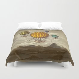 The Voyage Duvet Cover