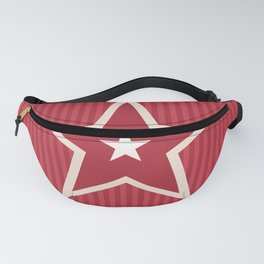 The Greatest Star! Red Fanny Pack