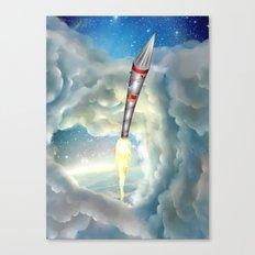 The Remarkable Rocket Canvas Print