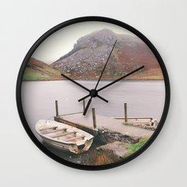 Lonely Llyn Wall Clock