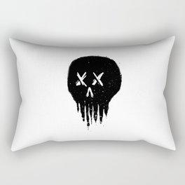 Trickle Skull Rectangular Pillow