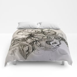 Straddling Cycles Comforters