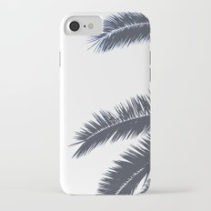 Palm Tree leaves abstract II iPhone 7 Slim Case