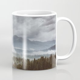 Misty mountains - Landscape and Nature Photography Coffee Mug