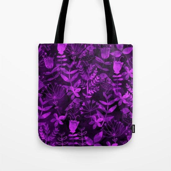 Abstract Botanical Garden II Tote Bag