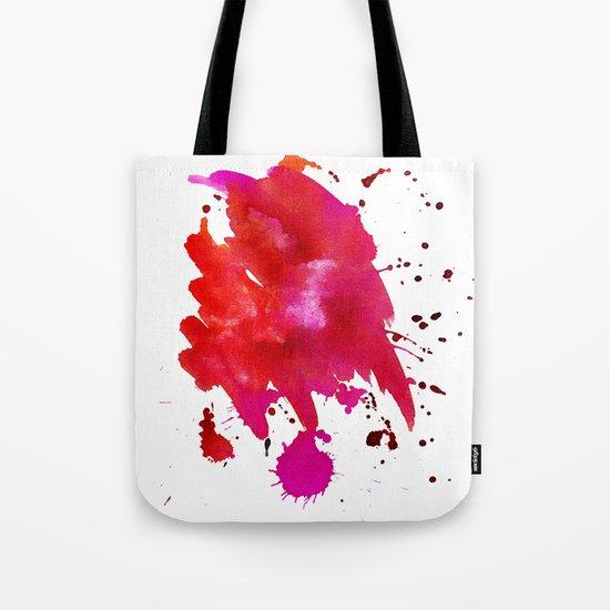 Watercolor red 1 Tote Bag