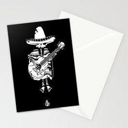 Guitar mariachi Stationery Cards