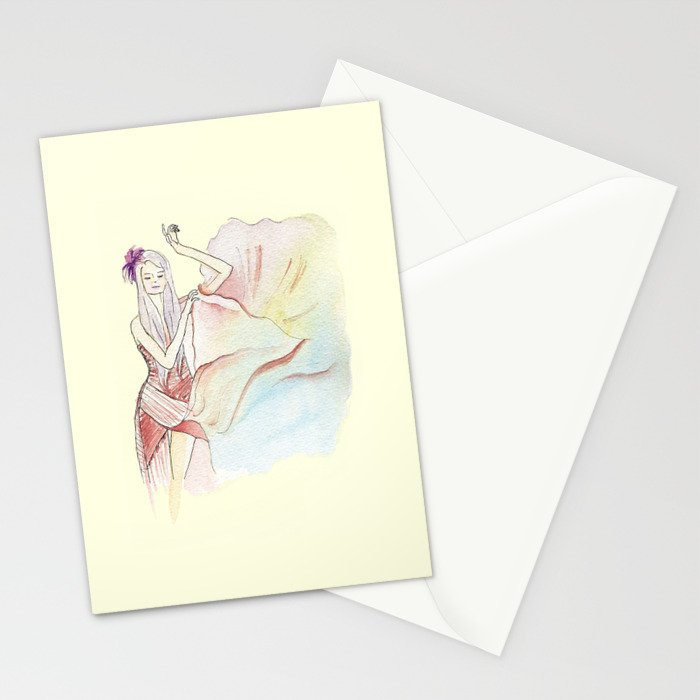 Love on The Weekend Stationery Cards