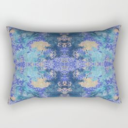 Merging two backgrounds Rectangular Pillow