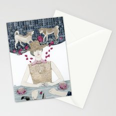 Lost and bewildered Stationery Cards