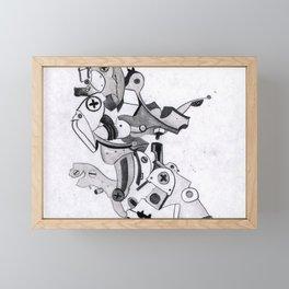 metal elbow Framed Mini Art Print
