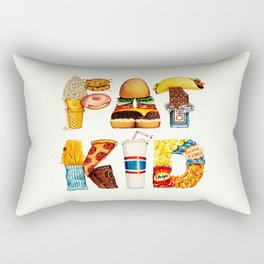 FAT KID Rectangular Pillow