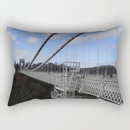 Clifton Suspension Bridge, Bristol, England Rectangular Pillow