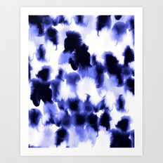 Kindred Spirits Blue Art Print