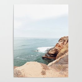 Cliffside Stairs Poster