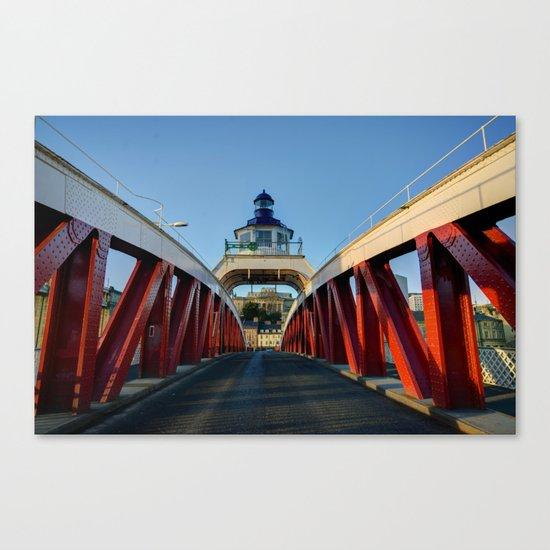 Low Level Bridge Canvas Print