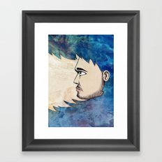 Into the Water Framed Art Print