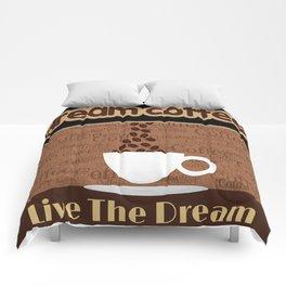 Coffee Dream Comforters