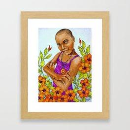 Nsoromma, Child of the Heavens Framed Art Print