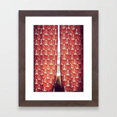 Orange Cats Framed Art Print
