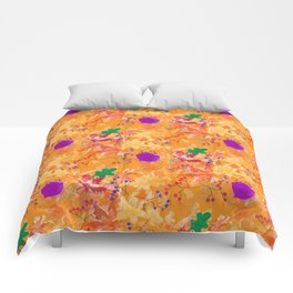 Fall Fire Comforters