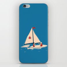 Sailing Towards Future Unknowns iPhone & iPod Skin