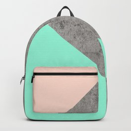 Concrete Collage Backpack