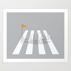 Safety first Art Print