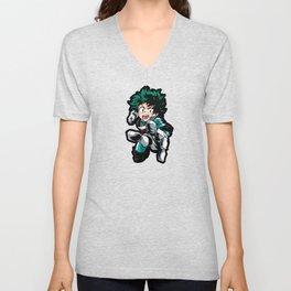 Izuku Midoriya Hero Academia Unisex V-Neck