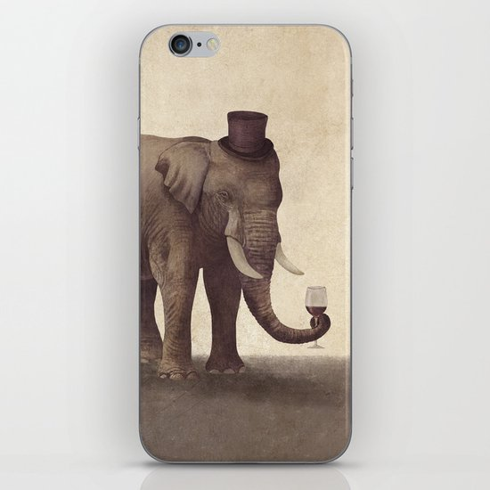 A Fine Vintage  iPhone & iPod Skin