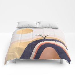 The Flowing Golden Desert Comforters