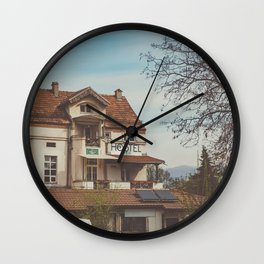 Hostel Wall Clock