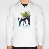 iphone 5 case Hoodies featuring Watering (A Life Into Itself) by Picomodi