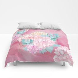 Dahlia Bush #society6 Comforters