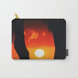 Moorea Sunset Carry-All Pouch