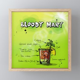 BloodyMary_002_by_JAMFoto Framed Mini Art Print