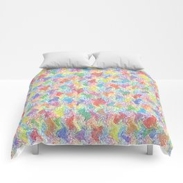 An Artist's Palette Comforters
