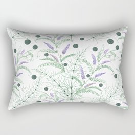 The meadow flowers. Rectangular Pillow