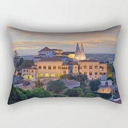Palacio Nacional de Sintra at dusk, Portugal Rectangular Pillow